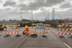 Louisiana Department Od Transportation and Development crews are barricading locations in Baton Rouge out of an abundance of caution. I-110 will be closed from Capitol Access to N. 22. The underpasses at Chippewa St near Scenic and Acadian Thruway near I-10 under the KCS Railway will also be closed.