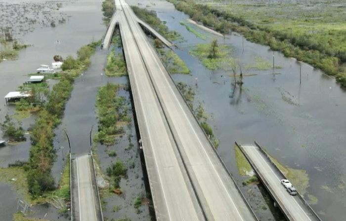I-55 near Manchac, Louisiana