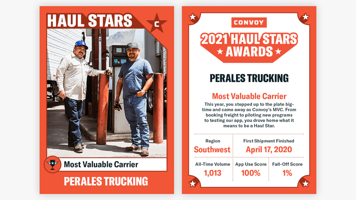Convoy 2021 Haul Stars